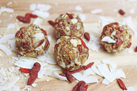 Go Go Goji Berry Protein Balls Recipe | Neat Nutrition. Clean, Simple, No-Nonsense.