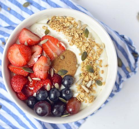 Greek Yogurt Protein Breakfast Bowl Recipe | Neat Nutrition. Clean, Simple, No-Nonsense Protein.