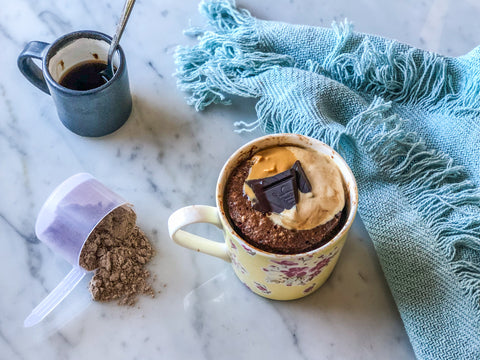 Mocha Mugcake Recipe | Neat Nutrition. Clean, Simple, No-Nonsense Protein.