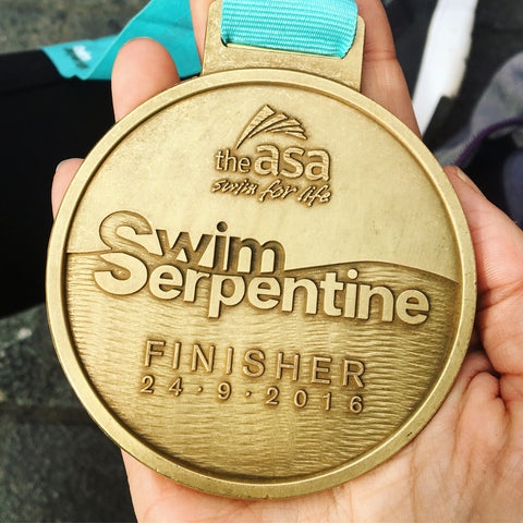 Swim Serpentine Medal  | Neat Nutrition. Clean, Simple, No-Nonsense.