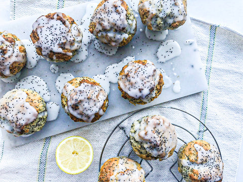 Lemon and Poppy Seed Muffin Protein Recipe | Neat Nutrition. Protein Powder Subscriptions.