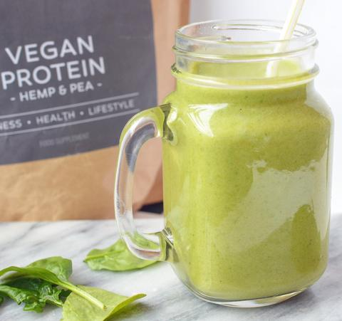 Green Goblin Vanilla Vegan Smoothie Recipe | Neat Nutrition. Clean, Simple, No-Nonsense.