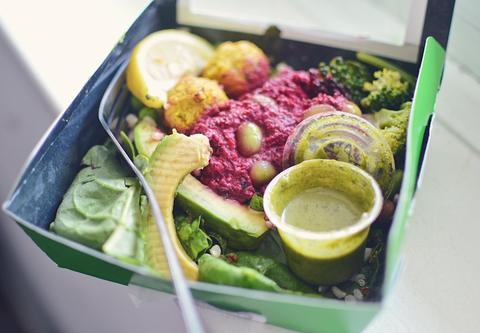 Pret Veggie Salad Box | Neat Nutrition. Clean, Simple, No-Nonsense Protein.