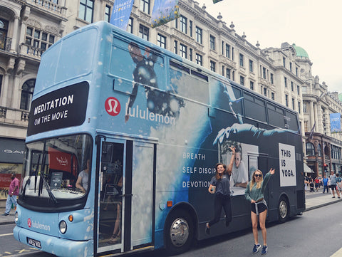 lululemon Meditation Bus at Summer Streets Regent St | Neat Nutrition. Clean, Simple, No-Nonsense.