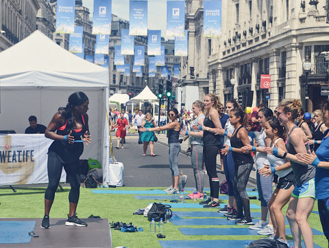 Third Space Summer Streets Workout: Regent St | Neat Nutrition. Clean, Simple, No-Nonsense.
