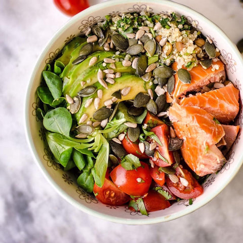 Green Brekkie Bowl: Nourish Kitchen at The Neat Cafe | Neat Nutrition. Clean, Simple, No-Nonsense.