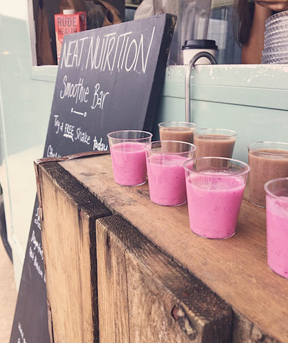 Milk Float Smoothie Bar at Soho Farmhouse | Neat Nutrition. Clean, Simple, No-Nonsense.