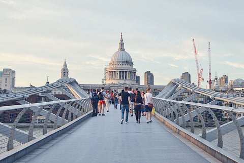 St Pauls From Millennium Bridge LDN | Neat Nutrition. Clean, Simple, No-Nonsense.