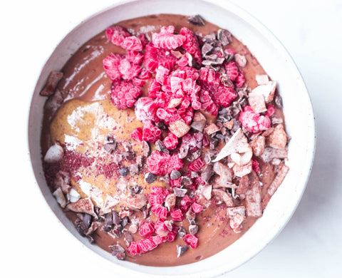 Chestnut Chocolate Smoothie Bowl | Neat Nutrition. Clean, Simple, No-Nonsense Protein.