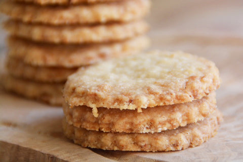 Lemon Coconut Thins Recipe | Neat Nutrition. Clean, Simple, No-Nonsense.