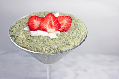 Matcha Chia Pudding Recipe | Neat Nutrition. Clean, Simple, No-Nonsense.