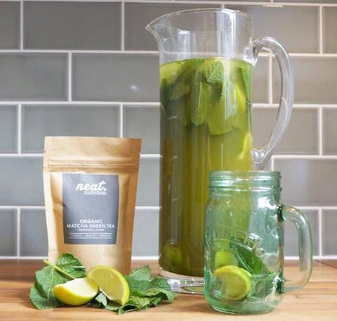 Organic Matcha Iced Tea Recipe | Neat Nutrition. Clean, Simple, No-Nonsense.