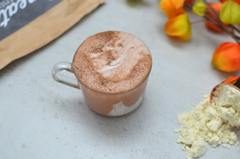 Pumpkin Spice Latte Recipe | Neat Nutrition. Clean, Simple, No-Nonsense Protein.
