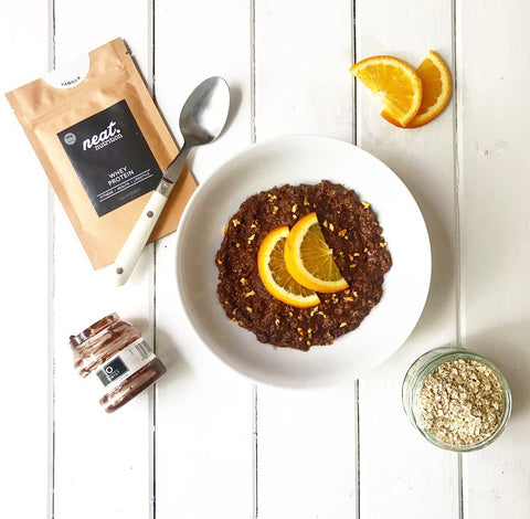 Onist Protein Porridge Recipe | Neat Nutrition. Clean, Simple, No-Nonsense.