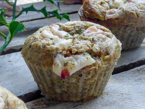 Cheese & Cranberry Protein Muffin