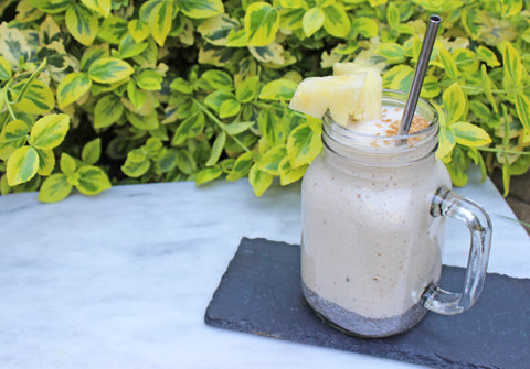 Pineapple & Chia Pudding Shake  | Neat Nutrition. Clean, Simple, No-Nonsense.