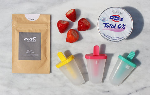 Protein Lolly Ingredients | Neat Nutrition. Clean, Simple, No-Nonsense.