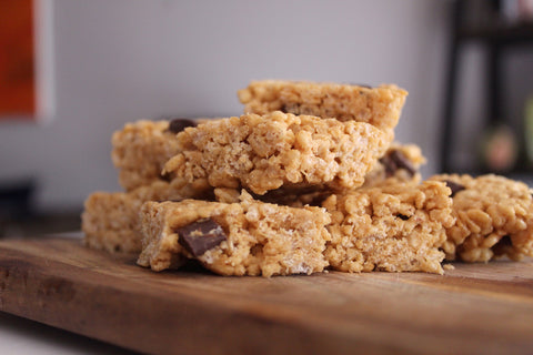 Choc Chip Rice Krispy Bars Recipe | Neat Nutrition. Clean, Simple, No-Nonsense Protein.