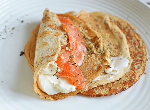 Savoury Buckwheat Crepes Recipe | Neat Nutrition. Clean, Simple, No-Nonsense.