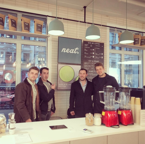 Nuts Over The Atlantic Team at The Neat Cafe | Neat Nutrition. Clean, Simple, No-Nonsense.