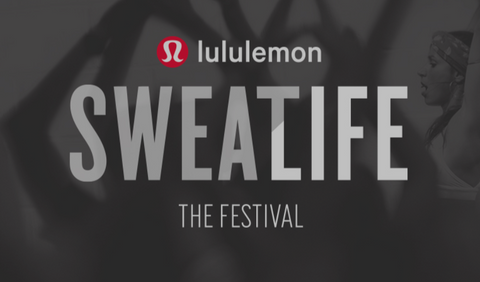lululemon Sweatlife Festival LDN | Neat Nutrition. Clean, Simple, No-Nonsense.