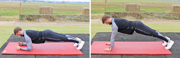 Tom Kemp Beginners Workout Plank Up Downs  | Neat Nutrition. Clean, Simple, No-Nonsense.