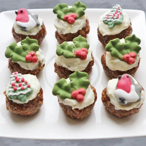 Bite Sized Christmas Puddings