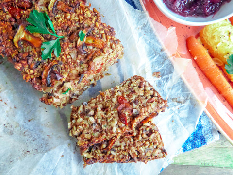 Vegan Protein Nut Roast Recipe | Neat Nutrition. Clean, Simple, No-Nonsense.