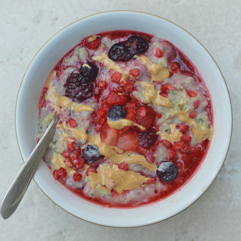 Very Berry Protein Zoats Recipe | Neat Nutrition. Clean, Simple, No-Nonsense Protein.