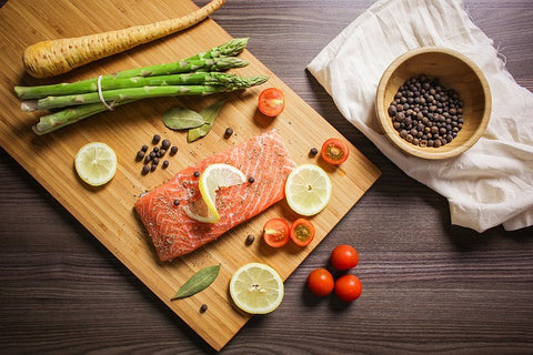 Omega-3's: Salmon and Vegetables | Neat Nutrition. Clean, Simple, No-Nonsense.