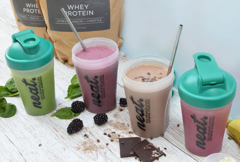 Sweatlife Protein Shakes | Neat Nutrition. Clean, Simple, No-Nonsense Protein.