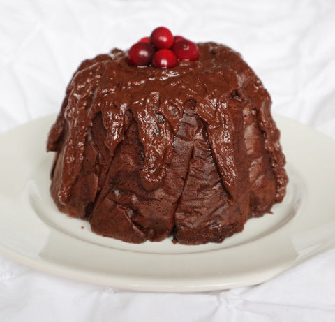 Chocolate Orange Christmas Pudding Recipe | Neat Nutrition. Clean, Simple, No-Nonsense.