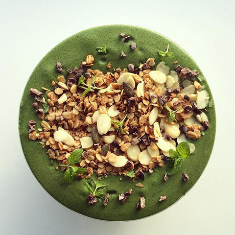 Mint Smoothie Bowl  | Neat Nutrition. Clean, Simple, No-Nonsense.