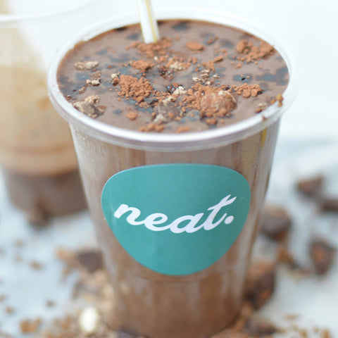 Mocha Madness Protein Smoothie | Neat Nutrition. Clean, Simple, No-Nonsense.