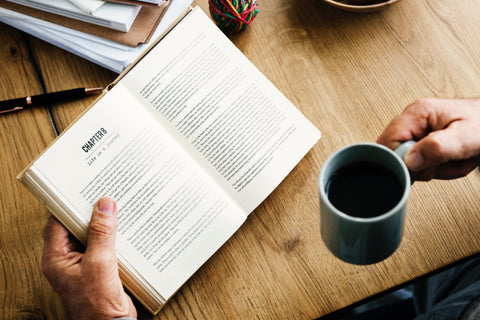 Reading With Coffee: Mindfulness | Neat Nutrition. Clean, Simple, No-Nonsense.