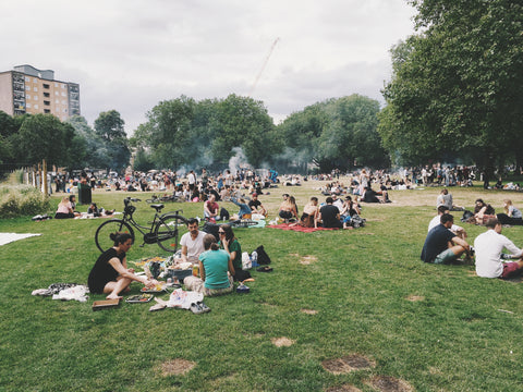 BBQ in the Park London | Neat Nutrition. Clean, Simple, No-Nonsense.