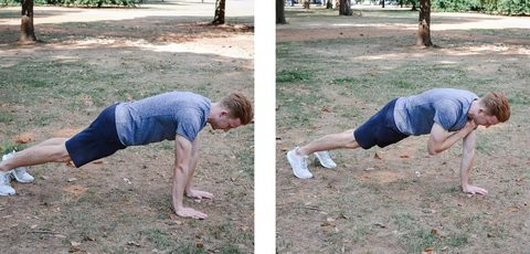 Plank Shoulder Taps Form Guide | Neat Nutrition. Clean, Simple, No-Nonsense Protein.