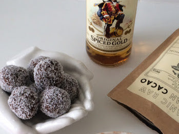 Naughty but Nice Protein Rum Balls | Neat Nutrition. Clean, Simple, No-Nonsense.