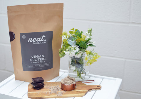 Neat Nutrition Vegan Protein Powder | Neat Nutrition. Clean, Simple, No-Nonsense.