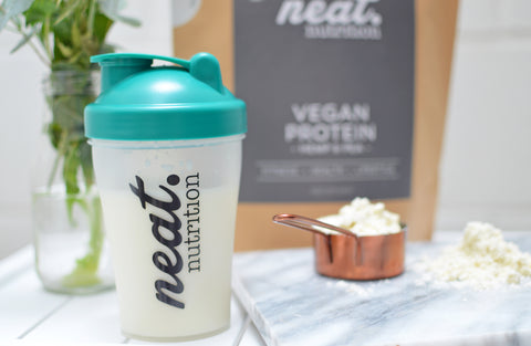 Vegan Vanilla Hemp & Pea Protein | Neat Nutrition. Clean, Simple, No-Nonsense.