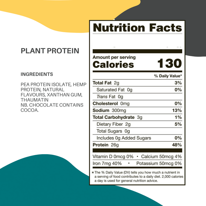 Plant Protein Bags