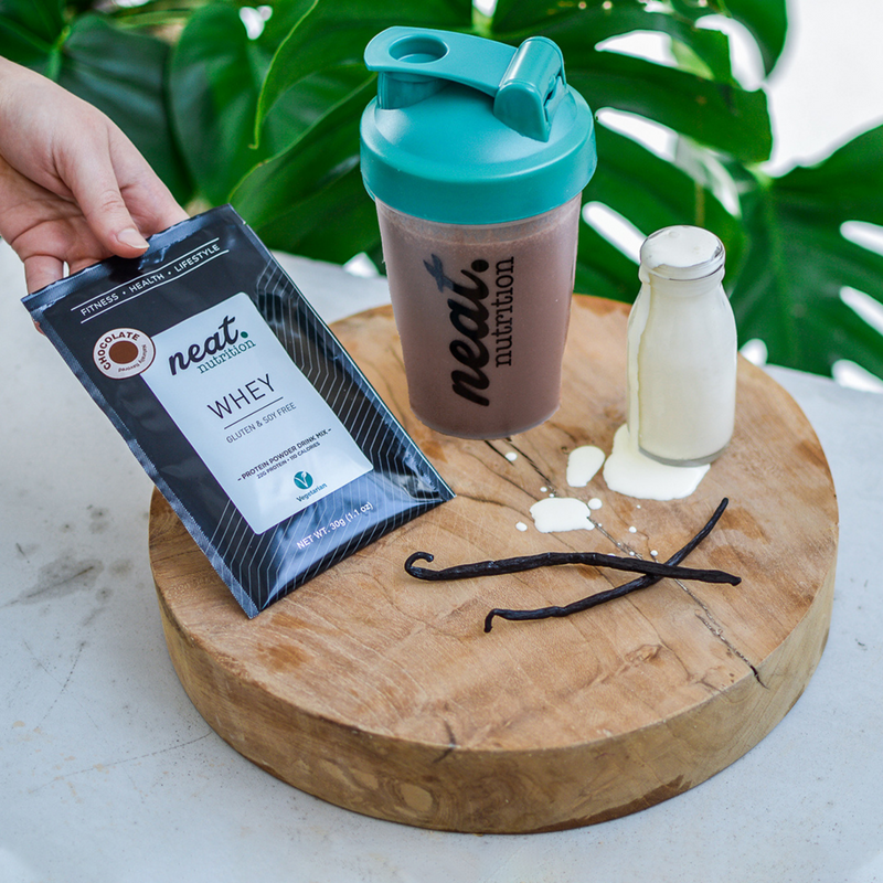 Whey Protein Trial Box (Shaker & 4 sachets)