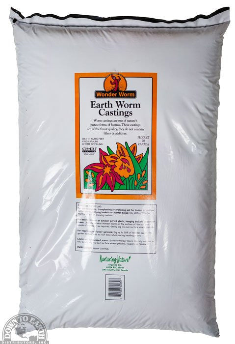 Nature Earth Worm Castings - Garden Effects -Indoor and outdoor Garden Supply