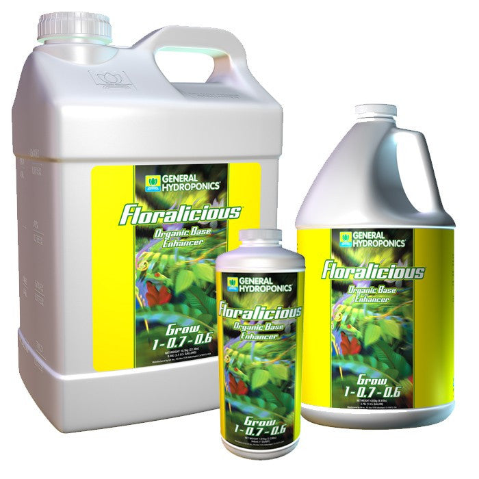 General Hydroponics Floralicious Grow - Garden Effects -Indoor and outdoor Garden Supply