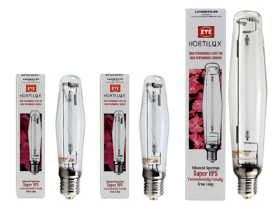 Eye Hortilux Super Hps Bulbs Availible in 400/600/1000 Watt - Garden Effects -Indoor and outdoor Garden Supply