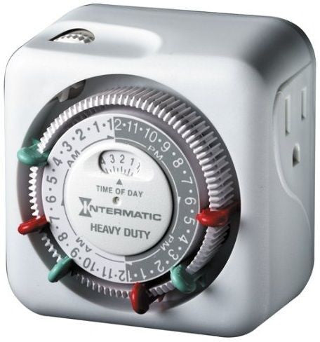 Intermatic 3 on-off Timer - Garden Effects -Indoor and outdoor Garden Supply