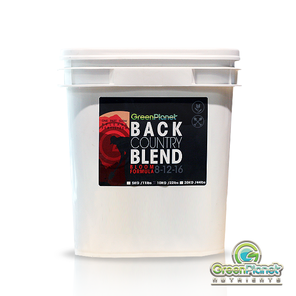 Green Planet Back Country Blend Bloom - Garden Effects -Indoor and outdoor Garden Supply