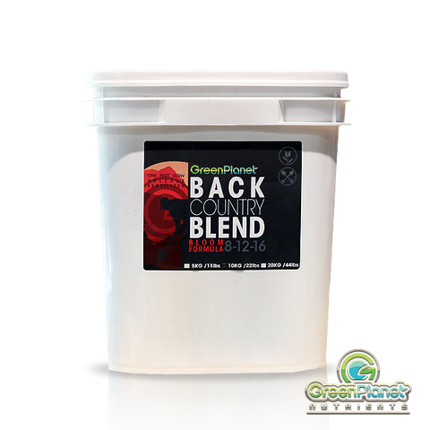 Green Planet Back Country Blend Bloom