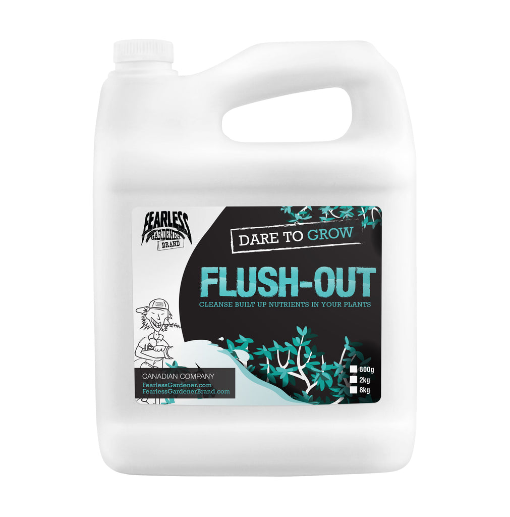 Fearless Gardener Brand Flush-Out - Garden Effects -Indoor and outdoor Garden Supply