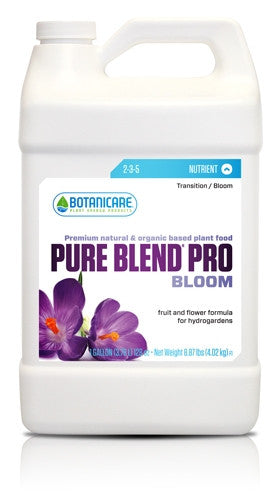 Botanicare Pure Blend Pro Hydro Bloom Formula - Garden Effects -Indoor and outdoor Garden Supply